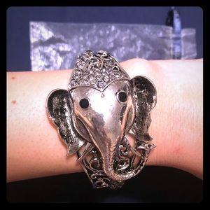 Ali Lang Elephant Cuff Bracelet